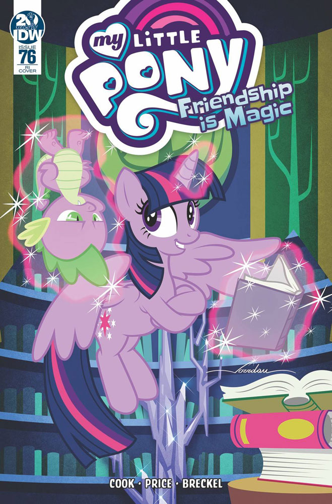 Image: My Little Pony: Friendship Is Magic #76 (incentive cover - Pereira) (10-copy)  [2019] - IDW Publishing
