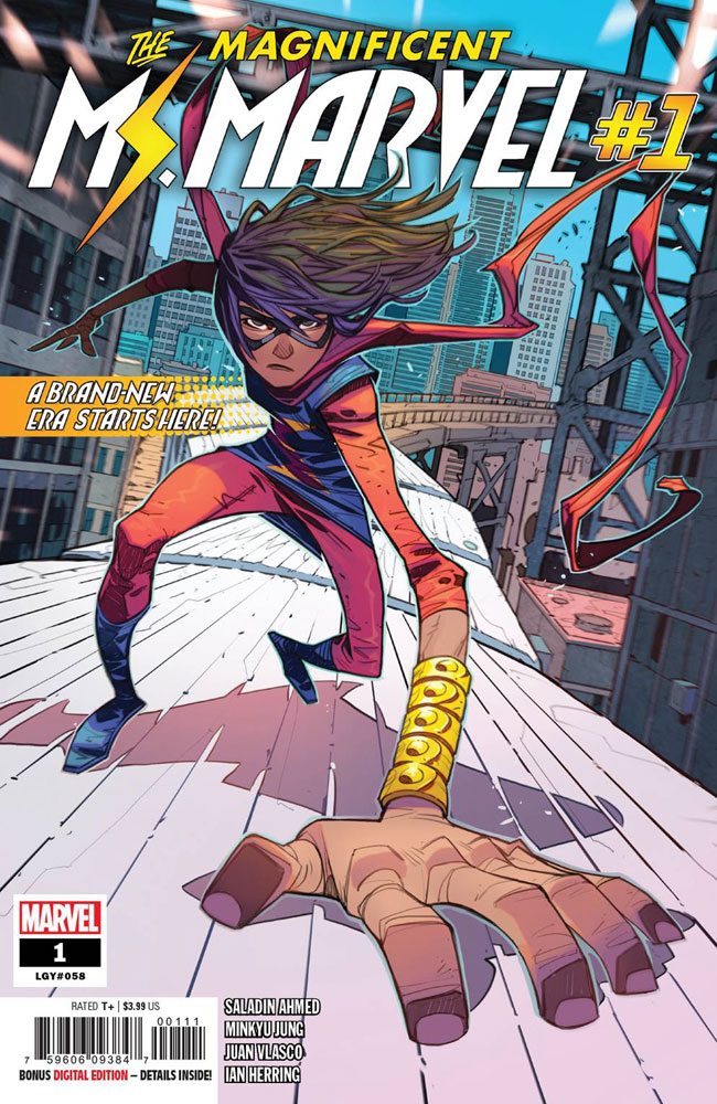 Image: Magnificent Ms. Marvel #1 - Marvel Comics
