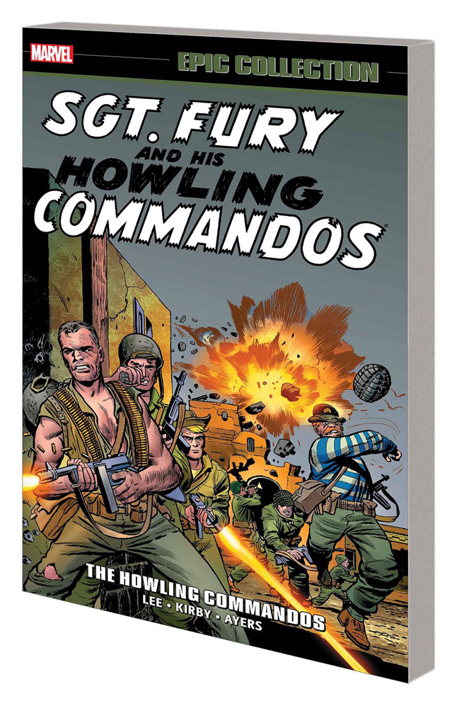 Sgt. Fury and his Howling Commandos Epic Collection