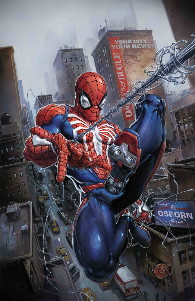 Image: Marvel's Spider-Man: City at War by Crain Poster  - Marvel Comics