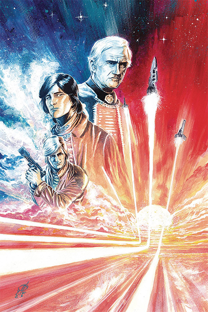 Image: Battlestar Galactica #5 (Classic) (incentive cover - Rudy virgin) (10-copy)  [2019] - Dynamite