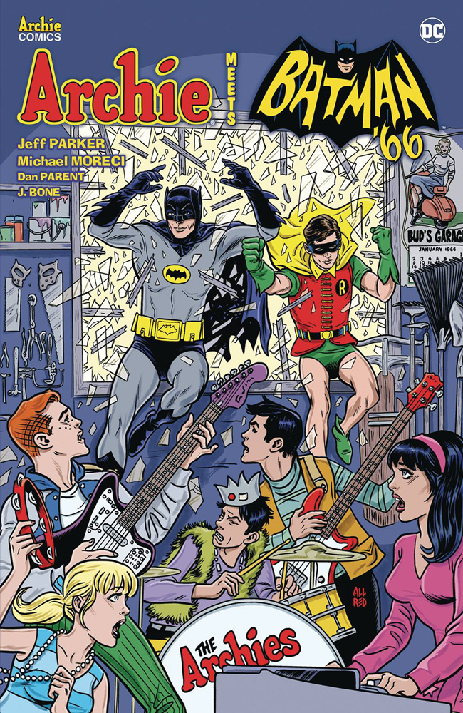 Image: Archie Meets Batman '66 SC  - Archie Comic Publications