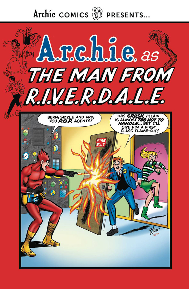 Archie as The Man From R.I.V.E.R.D.A.L.E.