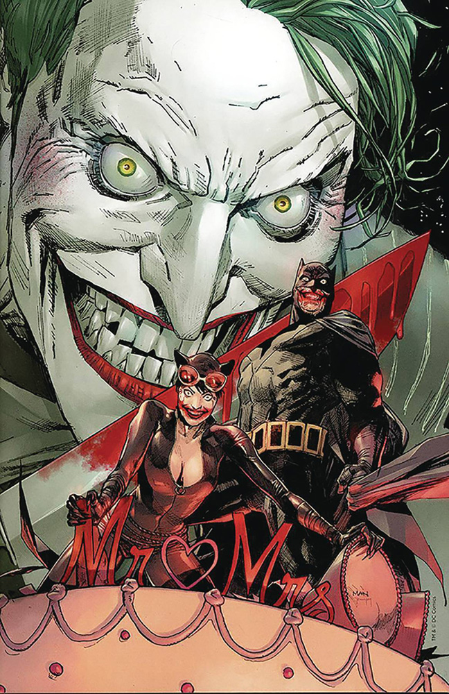 Image: Batman #50 (variant DFE cover - Bloody Knife Virgin) (DFE signed - King & Mann) - Dynamic Forces