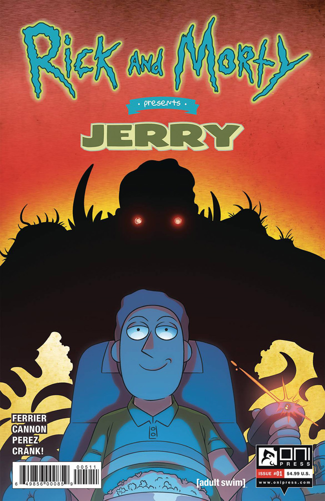 Image: Rick and Morty Presents: Jerry #1 (cover A - CJ Cannon) - Oni Press Inc.