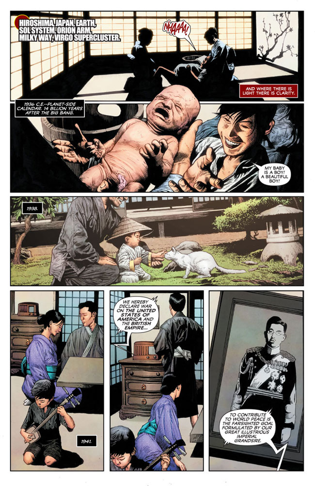 Life and Death of Toyo Harada #1 (cover A - Suayan) - Valiant Entertainment LLC