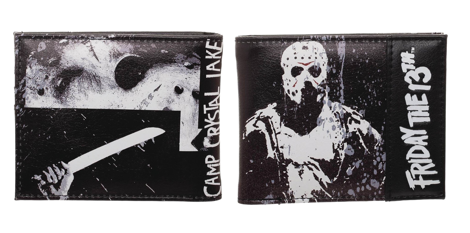 Image: Friday the 13th Bi-Fold Wallet  - Bioworld Merchandising