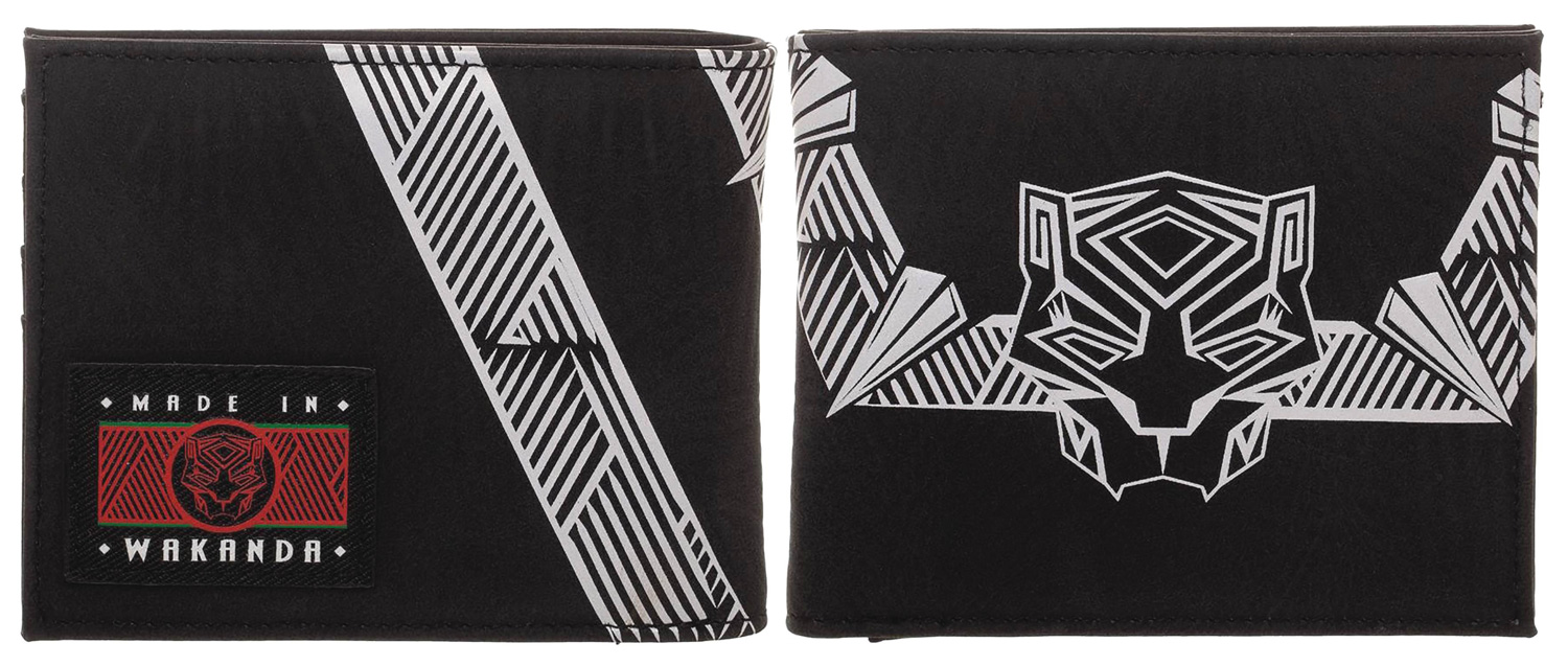 Image: Marvel Bi-Fold Wallet: Black Panther  - Bioworld Merchandising