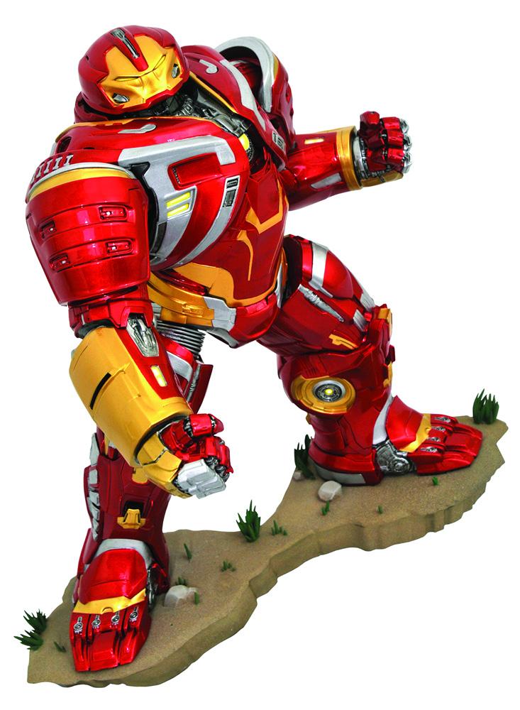 Marvel Gallery PVC Diorama: Avengers Infinity War: Hulkbuster Iron Man Mk 2  - Diamond Select Toys LLC