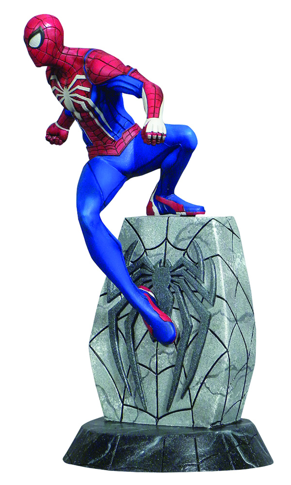 Marvel Gallery PVC Figure: Spider-Man PS4  - Diamond Select Toys LLC