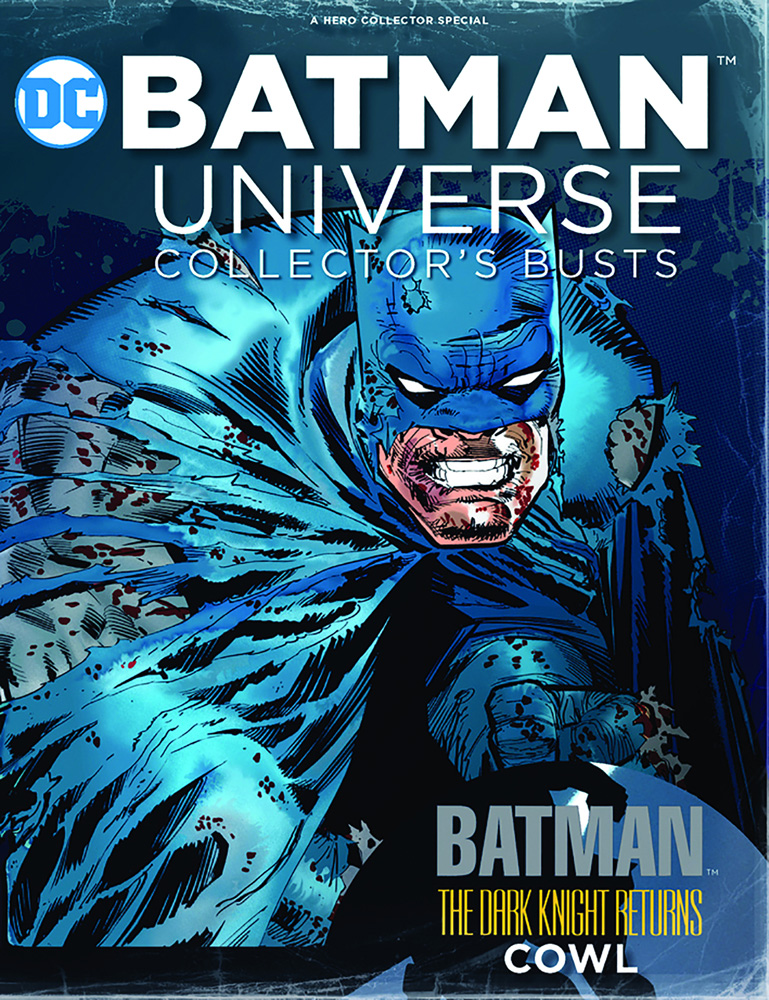 DC Batman Universe Cowl Collectible #2 (Dark Knight Returns) - Eaglemoss Publications Ltd