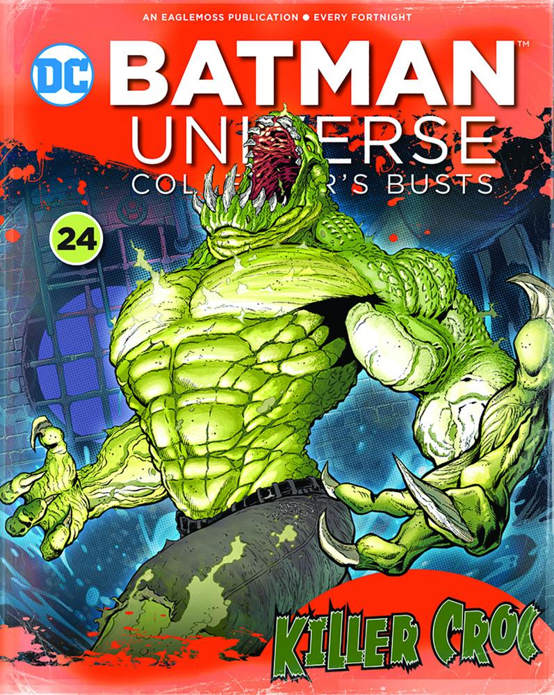 DC Batman Universe Bust Collectible #24 (Killer Croc) - Eaglemoss Publications Ltd