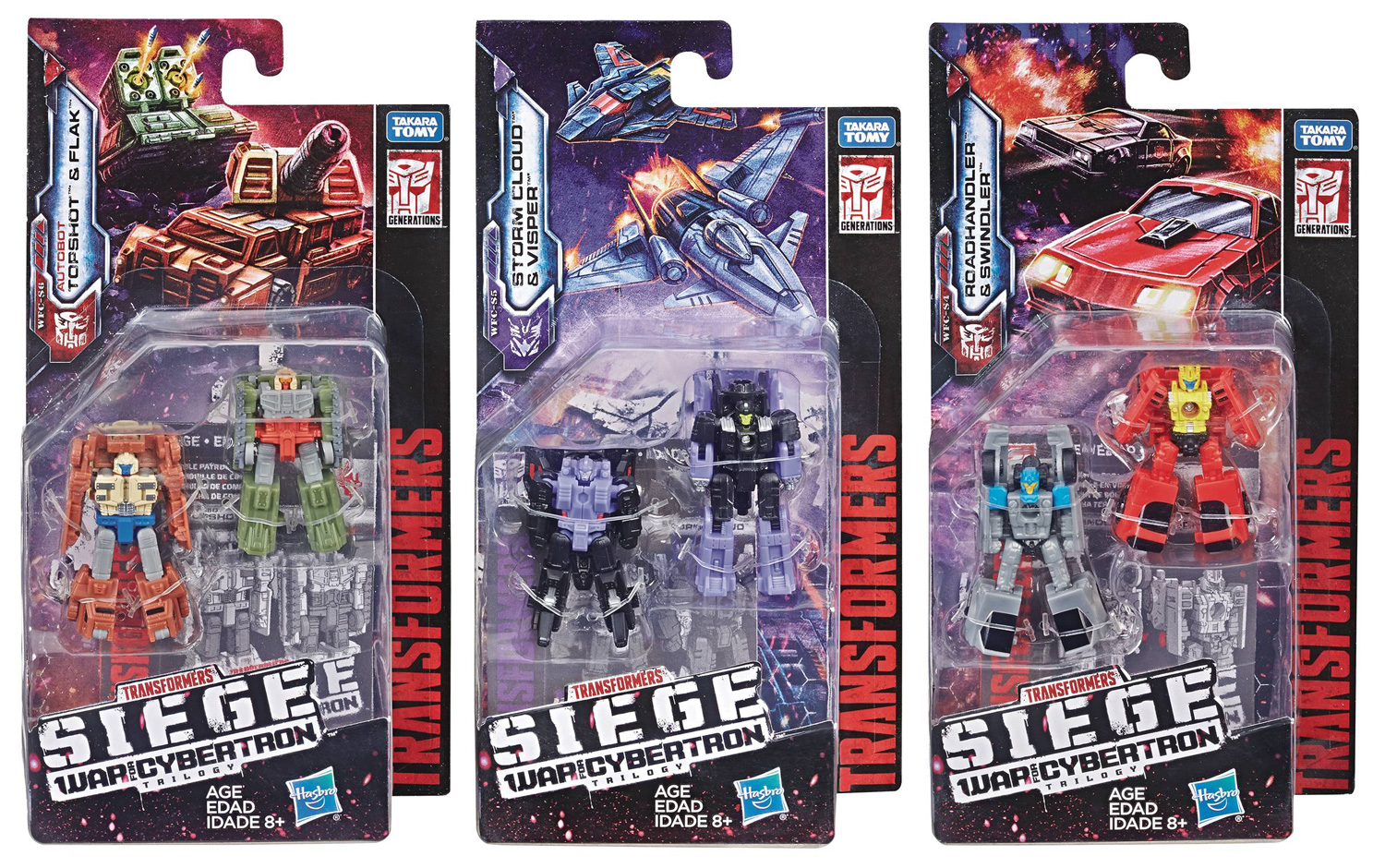 Image: Transformers Gen WFC Micromaster Action Figure Assortment 201901  - Hasbro Toy Group