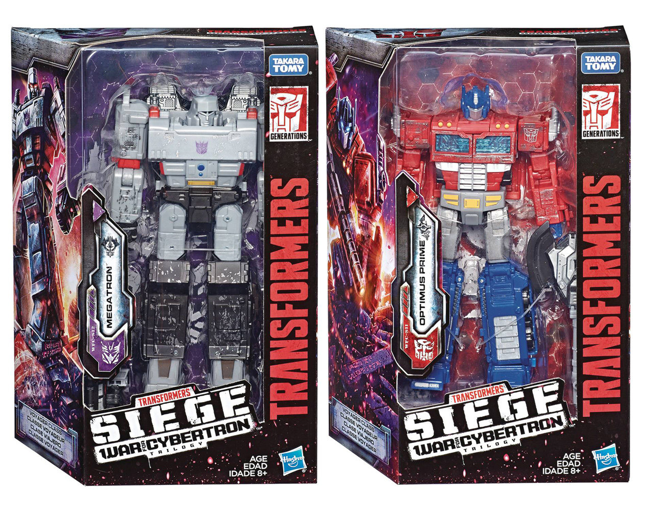 Image: Transformers Gen WFC Voyager Action Figure Assortment 201901  - Hasbro Toy Group