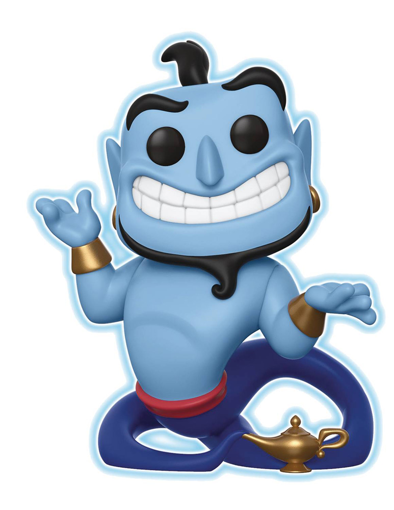 Image: Pop! Disney Vinyl Figure: Aladdin - Genie  (with Lamp Glow) - Funko