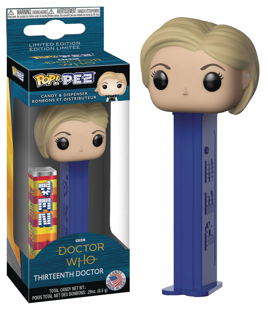 Image: Pop! Pez: Doctor Who - Thirteenth Doctor  - Funko