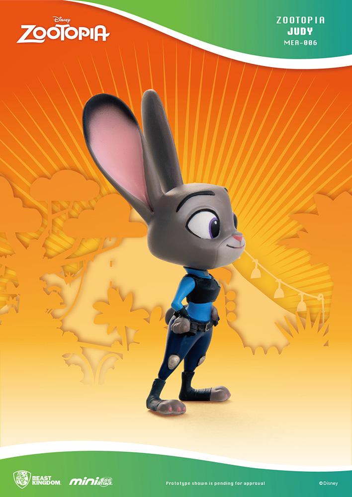 Disney Zootopia Mea-006 Figure: Judy  - Beast Kingdom Co., Ltd