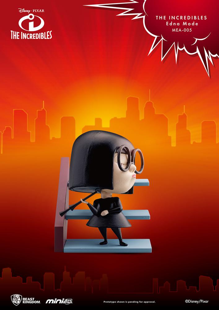 Incredibles Mini Egg Attack Figure: Edna Mode  - Beast Kingdom Co., Ltd