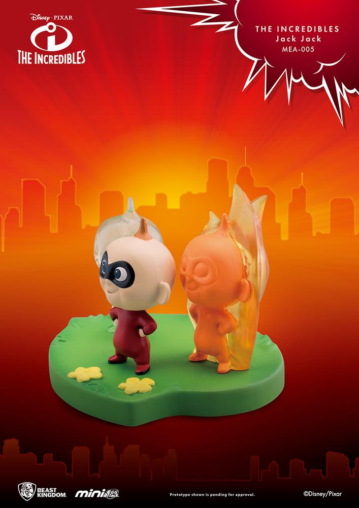 The Incredibles Mea-005 Figure: Jack Jack  - Beast Kingdom Co., Ltd