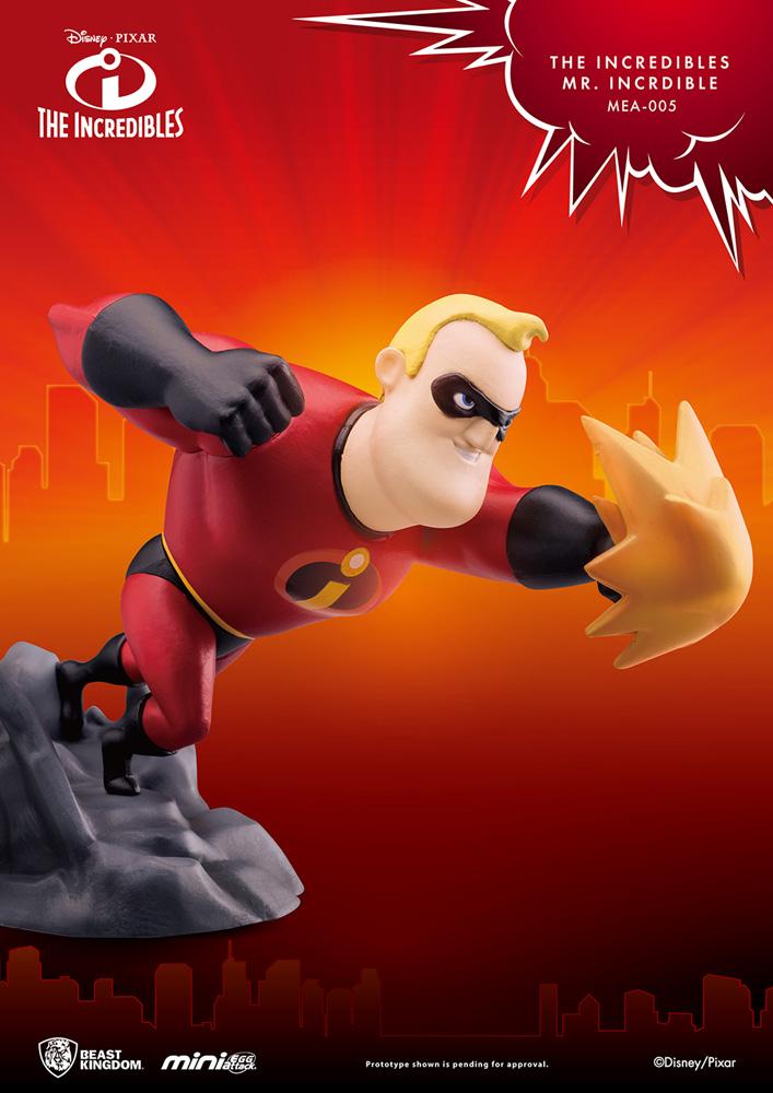 The Incredibles Mea-005 Figure: Mr. Incredible  - Beast Kingdom Co., Ltd