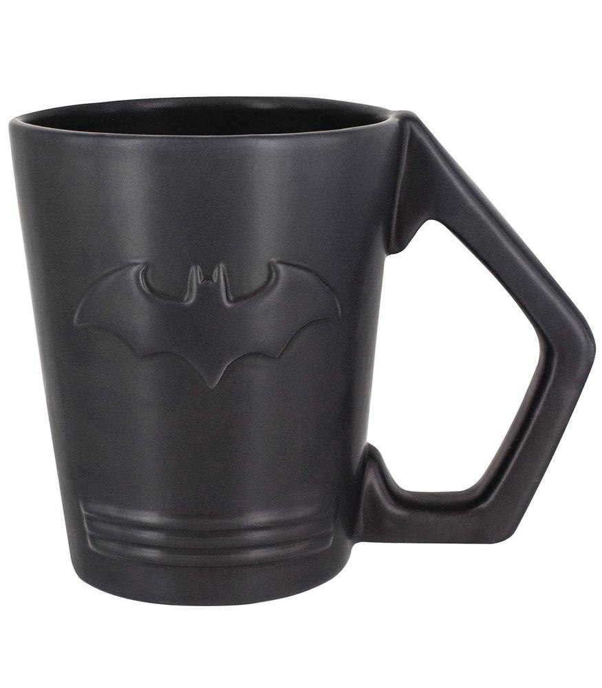 Batman Mug: Logo Embossed Dolomite  - Paladone Products