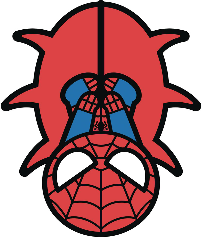 Image: Marvel Kawaii Pin: Spider-Man  - Popfun Merchandising LLC