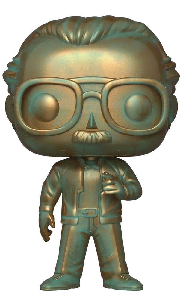 Image: Pop! Stan Lee Vinyl Figure  (Patina) -