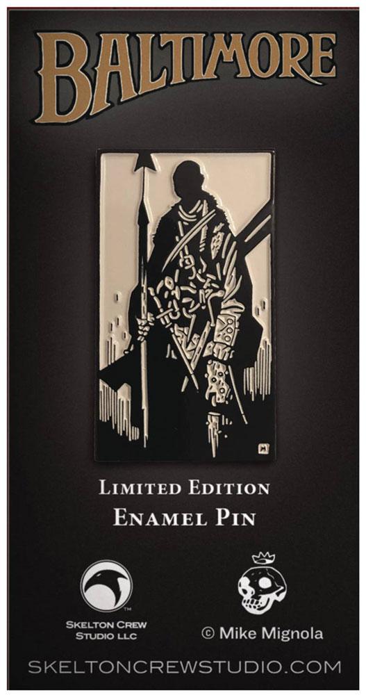 Mike Mignola Enamel Limited Edition Pin Set: Joe Golem & Lord Baltimore  -