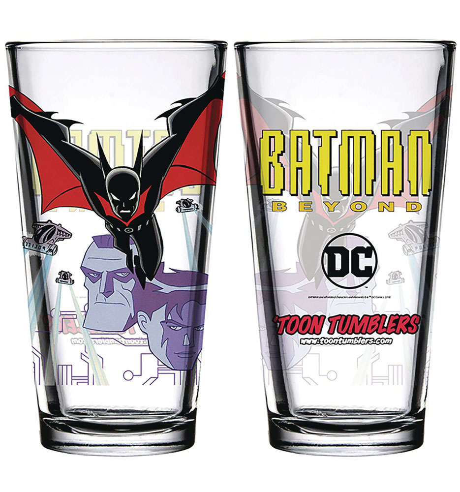Image: Toon Tumblers Pint Glass: Batman Beyond  -