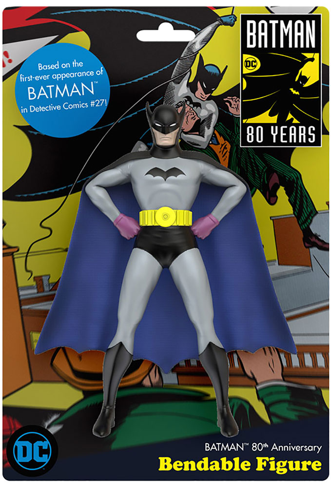 DC Bendable Figure: Batman  (Detective Comics #27) -
