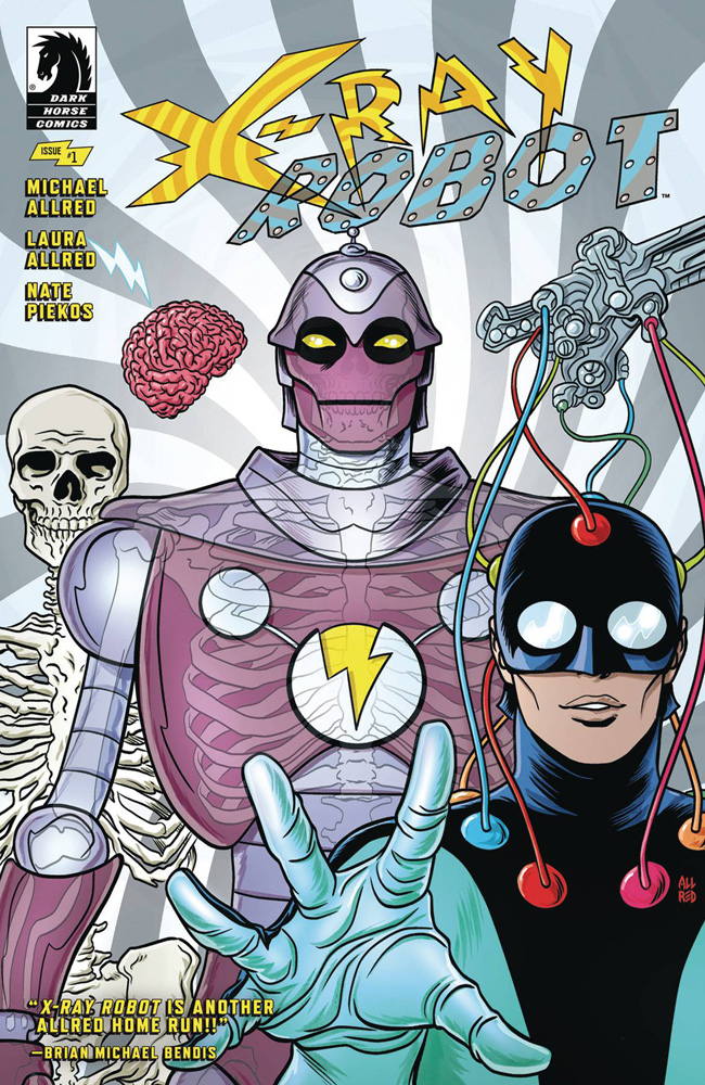 X-Ray Robot #1 Michael Allred cover