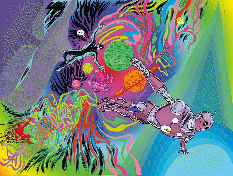 X-Ray Robot #1 (variant cover - Samnee)  [2020] - Dark Horse Comics