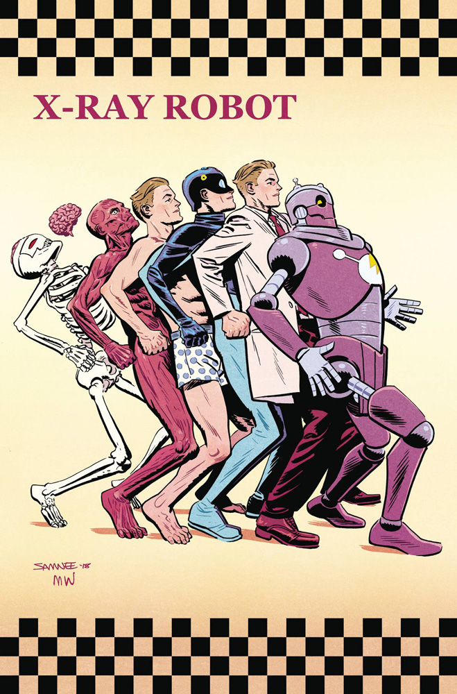 X-Ray Robot #1 Chris Samnee cover