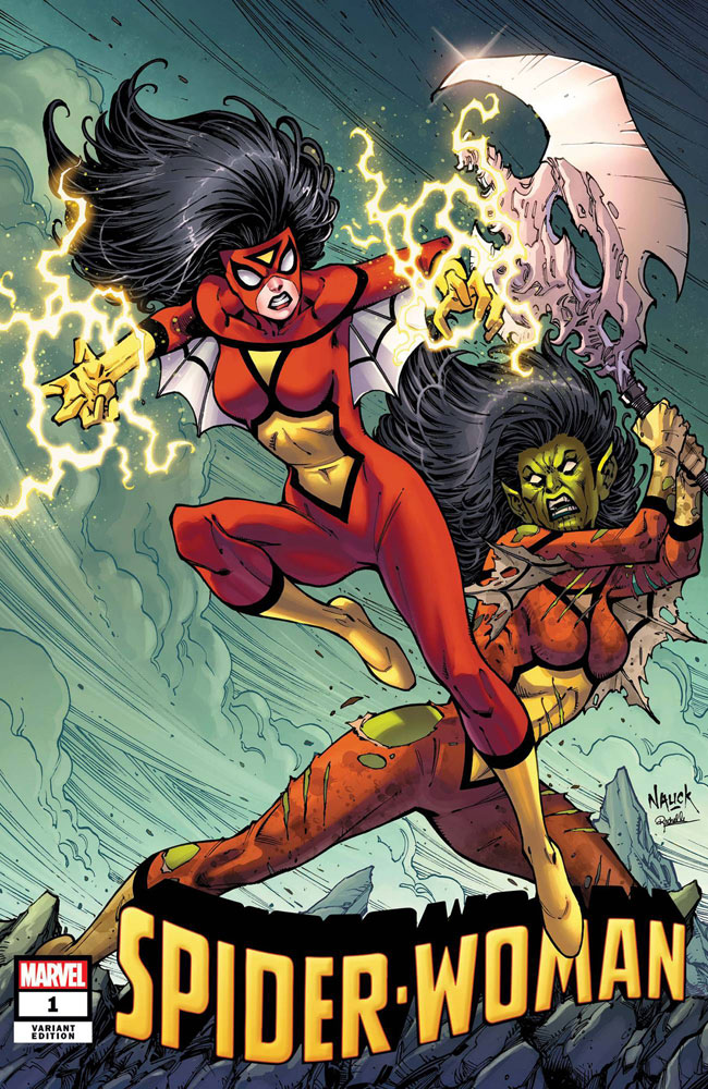 Image: Spider-Woman #1 (variant Villains cover - Nauck) - Marvel Comics