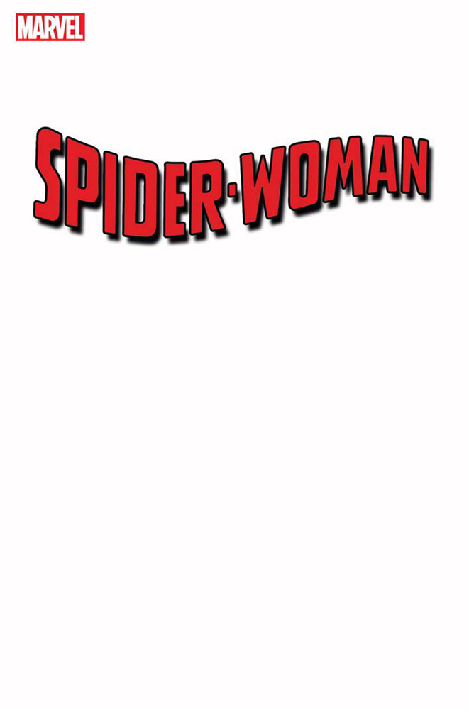 Image: Spider-Woman #1 (variant Blank cover) - Marvel Comics