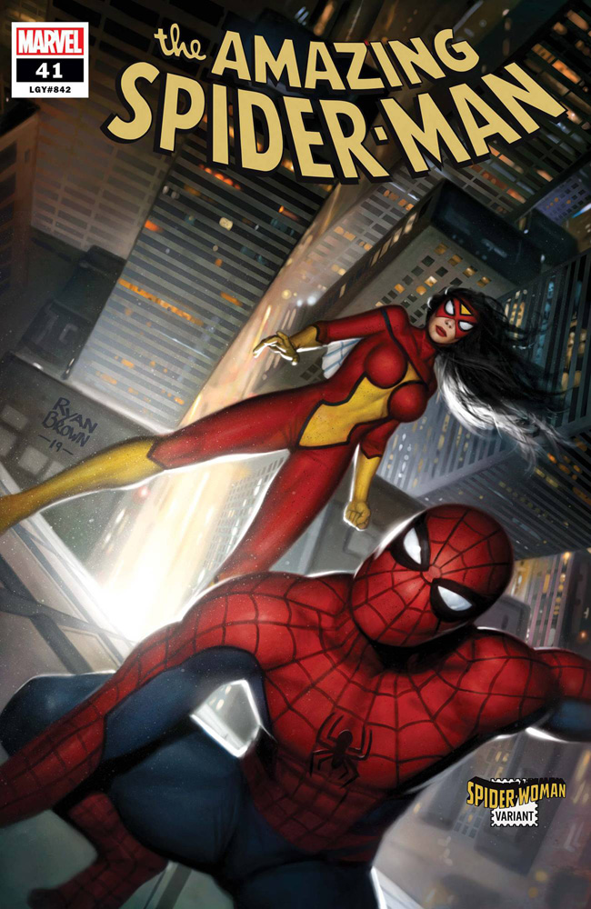 Image: Amazing Spider-Man #41 (variant Spider-Woman cover  - Marvel Comics
