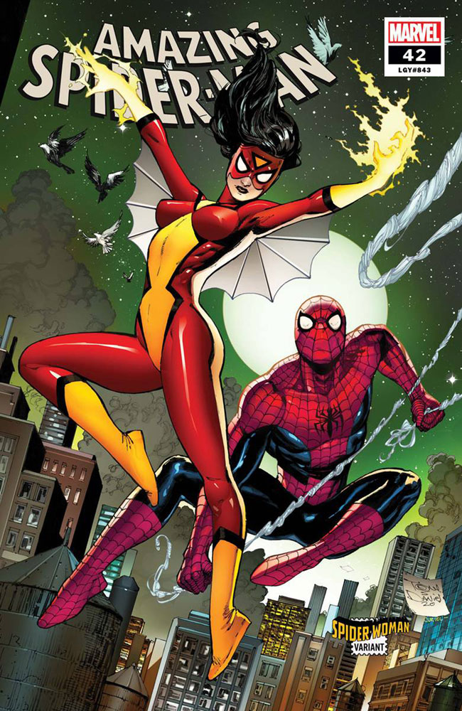 Image: Amazing Spider-Man #42 (variant Spider-Woman cover - Daniel) - Marvel Comics