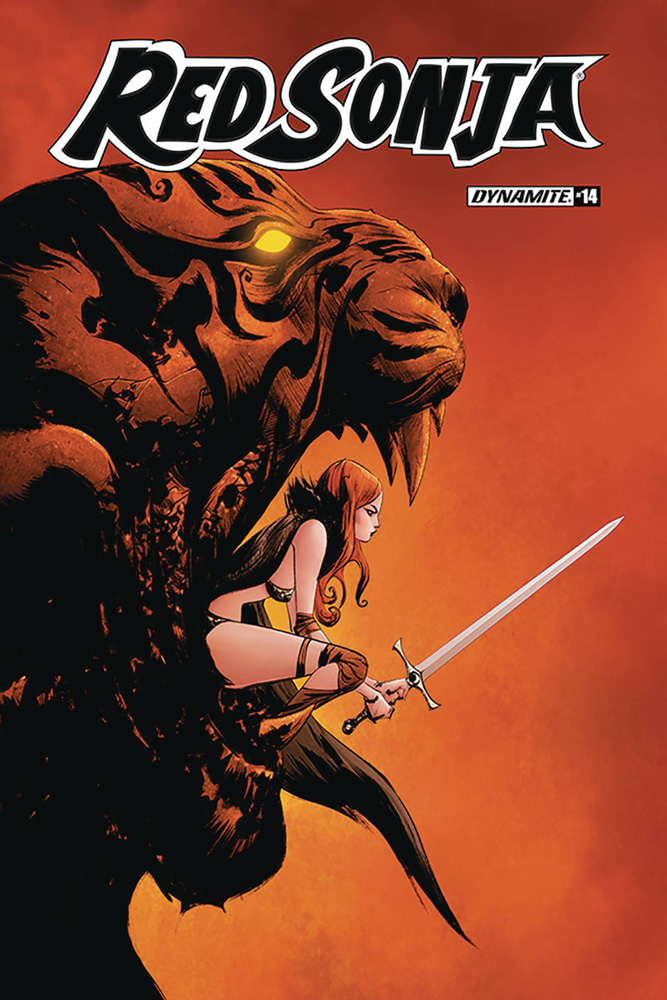 Image: Red Sonja Vol. 05 #14 (cover A - Jae Lee)  [2020] - Dynamite