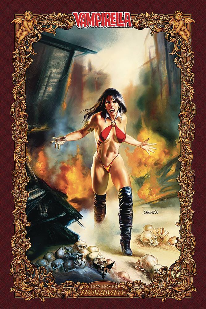 Image: Vengeance of Vampirella Vol. 02 #6 (incentive 1:60 cover - Bell Icon)  [2020] - Dynamite