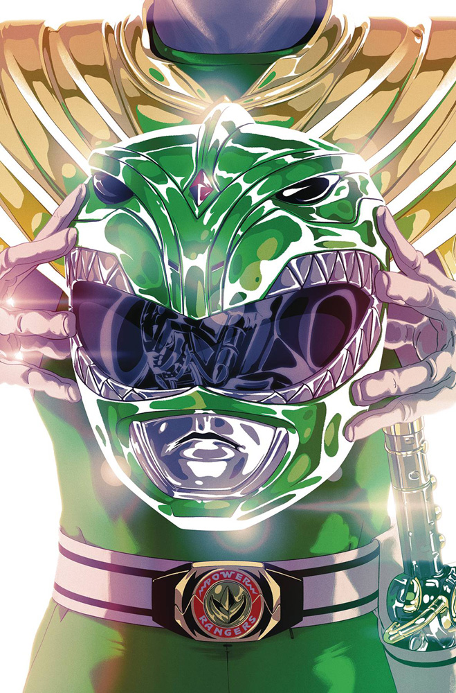 STUDIOS NM MIGHTY MORPHIN POWER RANGERS #44 FOIL MONTES VARIANT 2020 BOOM