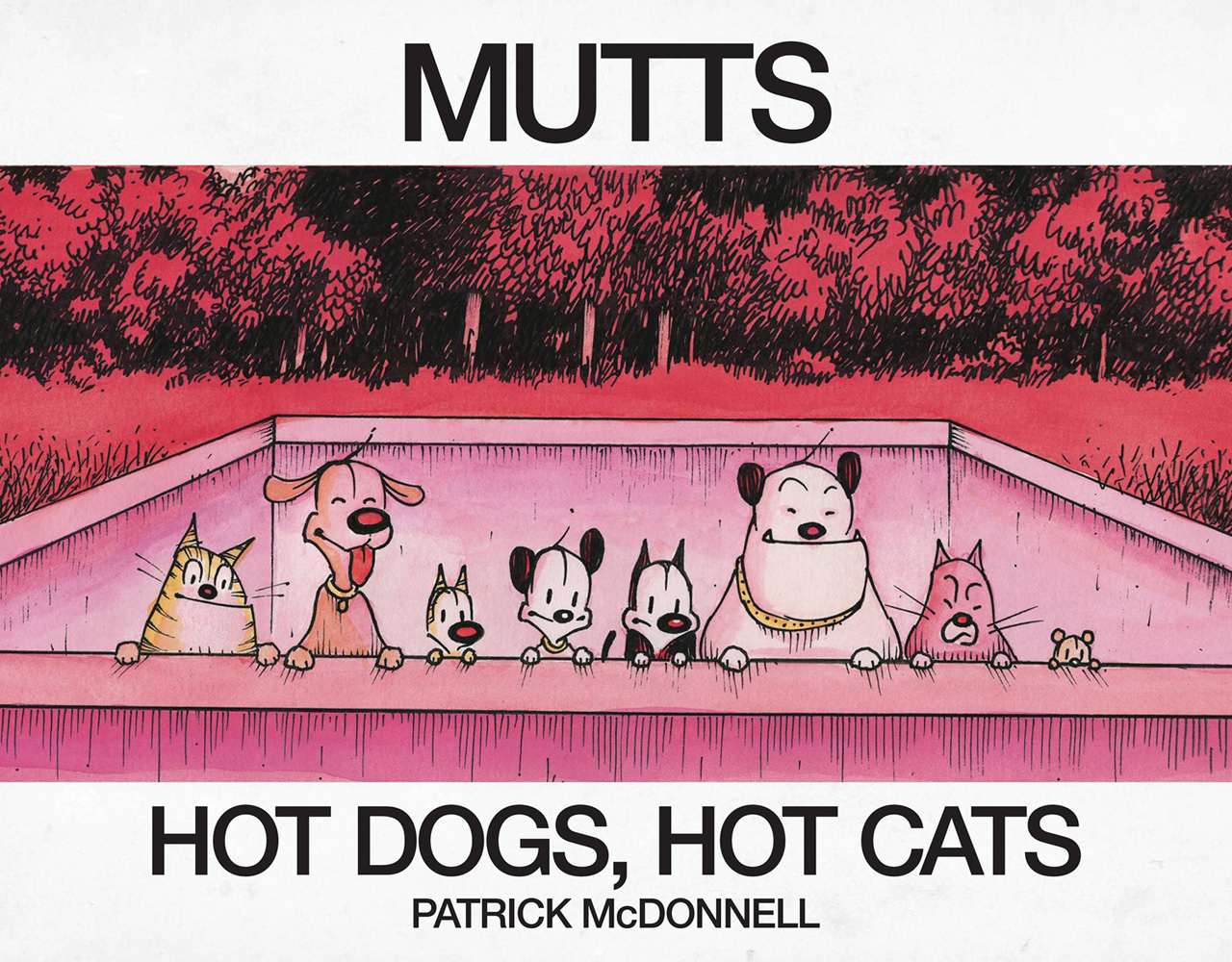 Image: Hot Dogs, Hot Cats  (A Mutts Treasury) SC - Andrews Mcmeel
