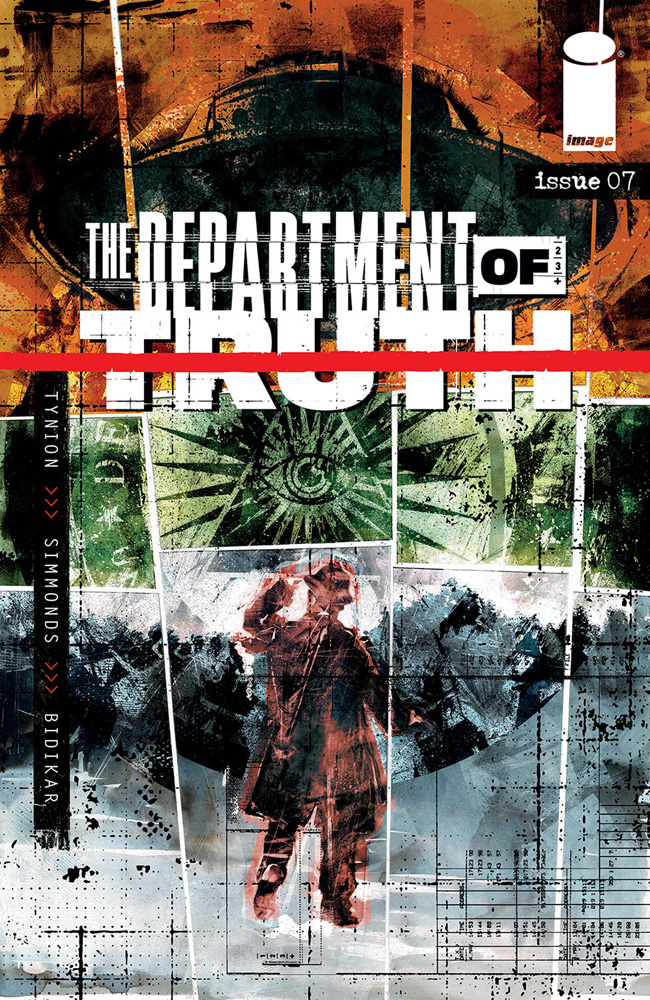 Image: Department of Truth #7 (cover A - Simmonds) - Image Comics