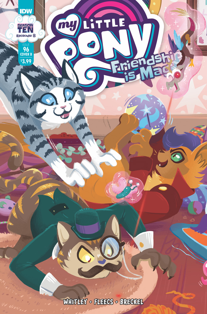 Image: My Little Pony: Friendship Is Magic #96 (cover B - Justasuta) - IDW Publishing