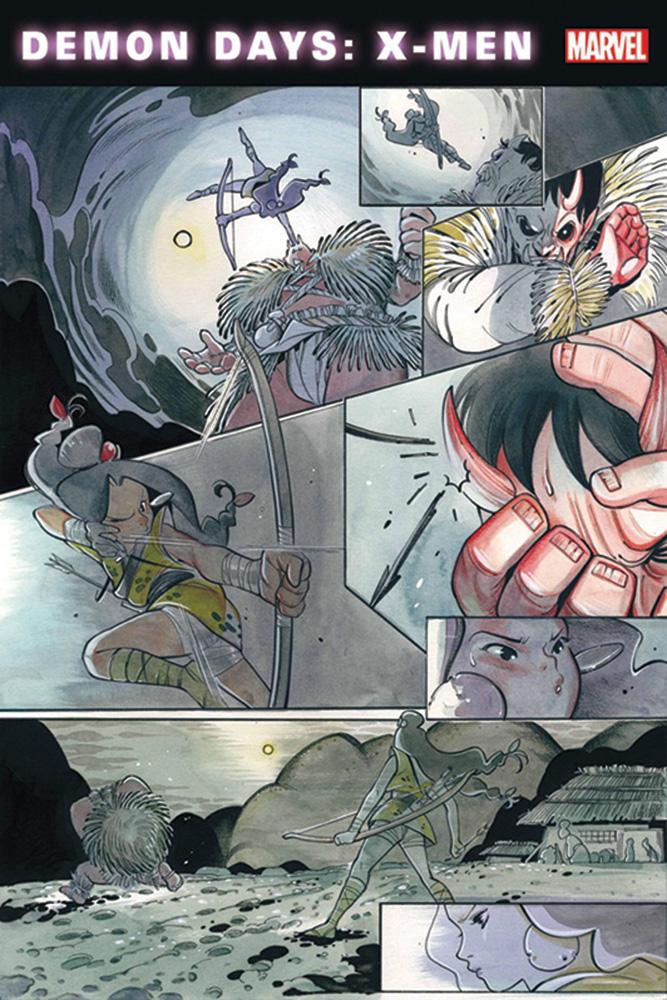 Demon Days: X-Men #1 (variant cover - Brooks) - Marvel Comics