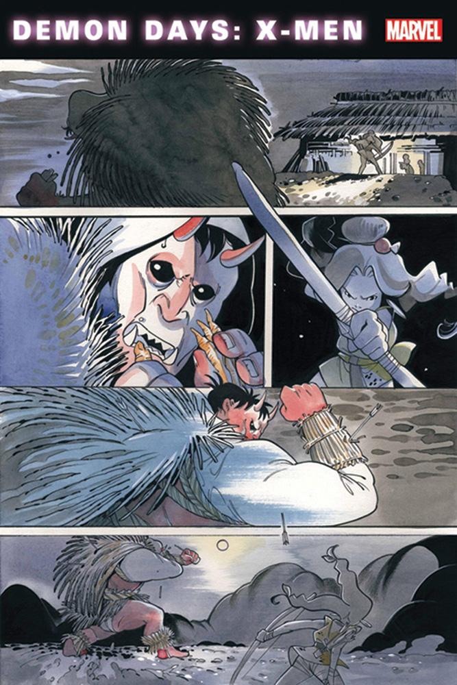 Demon Days: X-Men #1 (incentive 1:100 cover - Artgerm virgin) - Marvel Comics