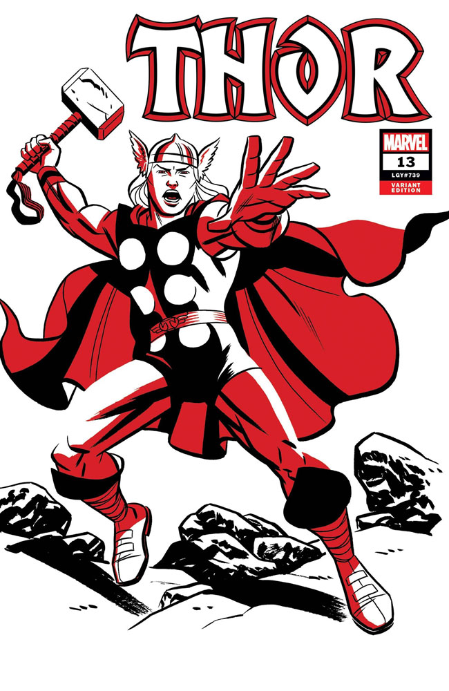 Image: Thor #13 (variant Two Tone: Thor cover - Michael Cho) - Marvel Comics