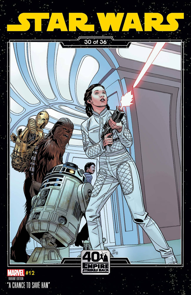 Image: Star Wars #12 (variant Empire Strikes Back cover - Sprouse) - Marvel Comics