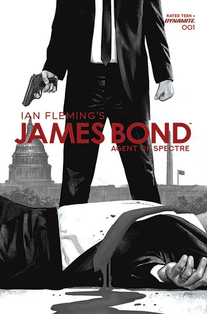 Image: James Bond: Agent of Spectre #1 (incentive 1:20 cover - Epting B&W)  [2021] - Dynamite