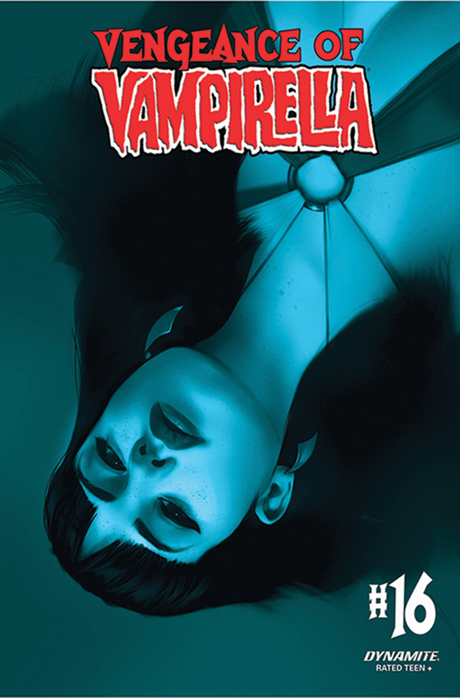 Image: Vengeance of Vampirella Vol. 02 #16 (incentive 1:40 cover - Oliver Tinted)  [2021] - Dynamite