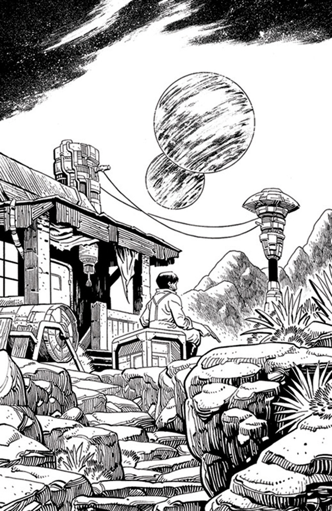 Image: Firefly #27 (cover E incentive 1:50 - Young B&W) - Boom! Studios